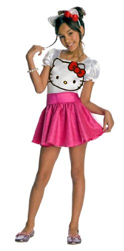 Hello Kitty Tutu Dress Child Costume - Large