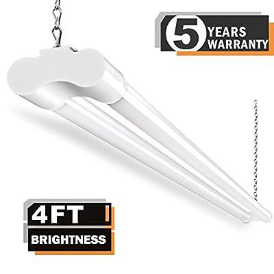 LED Shop Lights for Garage 36W 4FT BBOUNDER 3600 Lumens 5000k 82+ CRI for Garage Workshop 64 Watt Fluorescent Equivalent