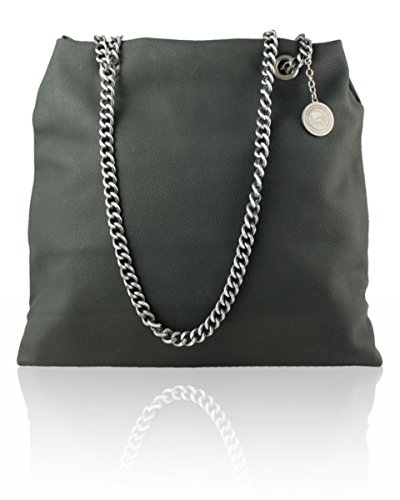 Strap LeahWard Black Bag 3295 Shoulder Chain Womens' Womens' LeahWard FBxfrIB