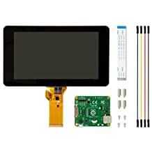 Raspberry Pi 7 inch WVGA Multitouch Color LCD Display Kit for Raspberry Pi