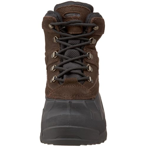 Kamik Fargo WK0007 - Botas de nieve para hombre, color marrón, talla 47.5