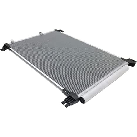 A//C Condenser Aluminum Factory Finish For Outback 10-14