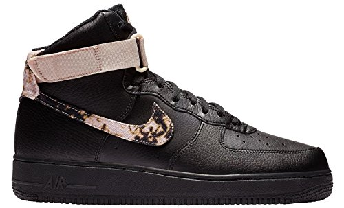 NIKE Men's Air Force 1 Print High Basketball Shoe ()