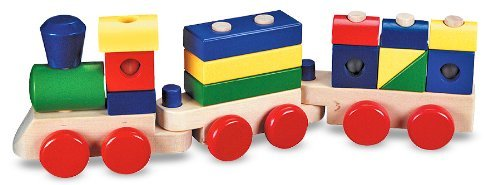 Imprint Block - Toy-Stacking Train Toddler Toy (No Imprint) (Ages 2+)