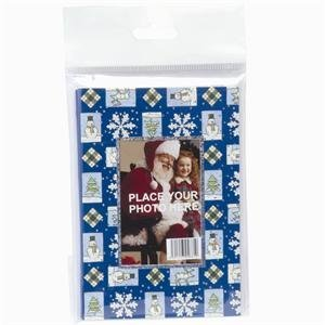 Christmas Cards Picture Insert (Wallet Greeting Card 4 Pack - Case of)