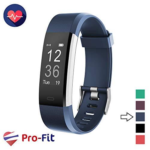 Pro-Fit Active VeryFitPro Fitness Tracker IP67 Waterproof Activity Tracker Heart Rate Sleep Monitor (Dark Blue) 1