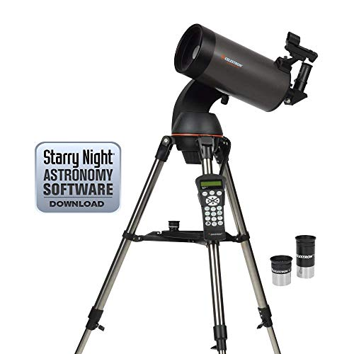 Celestron NexStar 127SLT Mak Computerized Telescope (Black) (Renewed)