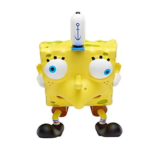 "Alpha Group Spongebob Squarepants, Masterpiece Memes, 8"" Collectible Vinyl Figure, Mocking Spongebob"