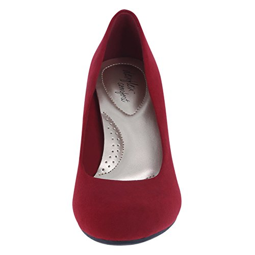 Suede Red Comfort Karlie Women's dexflex Wedge xXvwZFwq