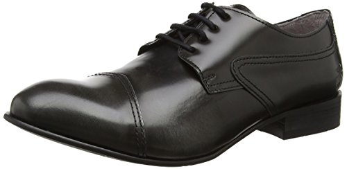 FLY London Safi945fly, Zapatos de Cordones Derby para Hombre Gris (Grey 001)