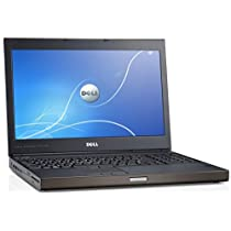 "Dell Precision M4700 15"" Notebook PC - Intel Core i7-3720QM 2.6GHz 8GB 750GB DVDRW Windows 10 Professional (Certified Refurbished)"