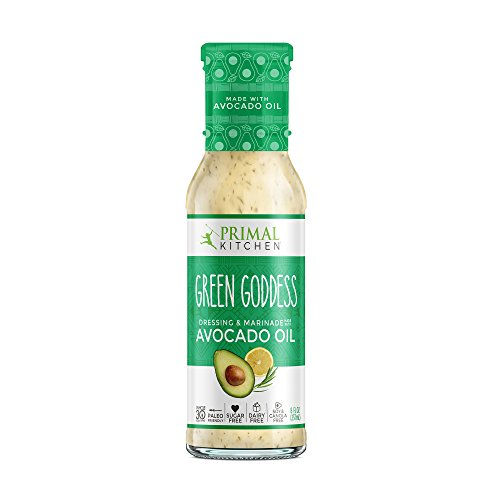 Primal Kitchen - Avocado Oil-Based Dressing and Marinade, Green Goddess, 8 fl oz, Whole30 and Paleo ()