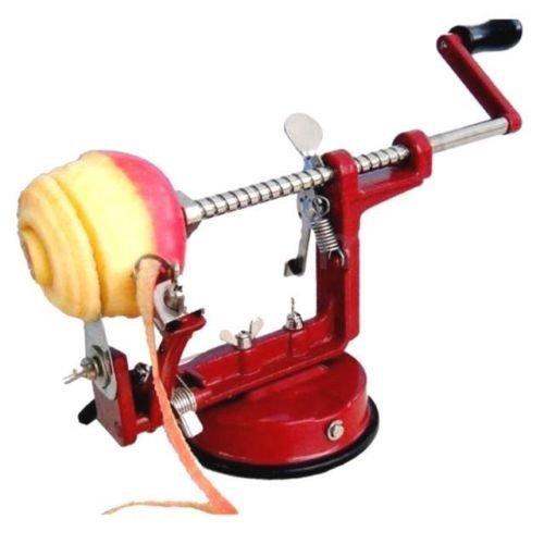 3 IN 1 Apple Peeler Slicer Corer Dicer Cutter Litchen Potato Fruit & Veg Machine Denny International®