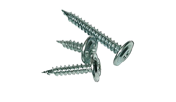 Phillips Drive Head 35 per Package Fastap FTP080RWH #8 x 13//16 Round Washer Head Self Drilling Sheet Metal Screws