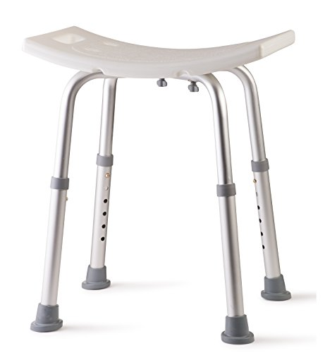Dr Kay's Adjustable Height Bath and Shower Seat Top Rated Shower Bench (Bench Stools And Chairs)