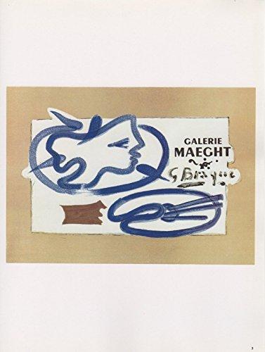 Braque Lithograph - 1989 VINTAGE