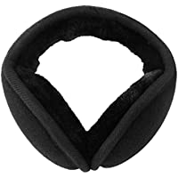 Mocofo Classic Fleece Ear Muffs Collapsible Behind-The-Head Ear Warmers for Women and Men