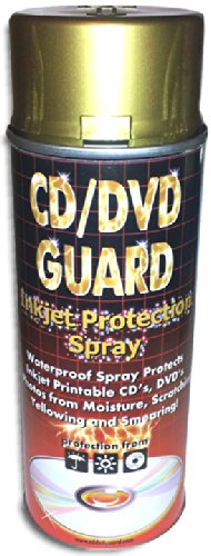 2-Pak CD/DVD Guard Inkjet Protection Spray 400ml Cans