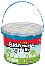 Kangaroo Jumbo Sidewalk Chalk, 20 Chalks