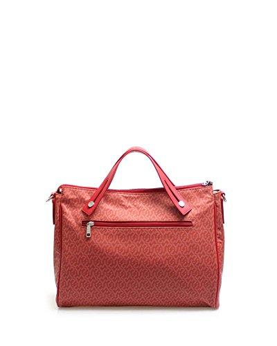 Borsa H L Rosso Gu1009 YNOT cm Donna x W 12x31x38 Tracolla x Pe18 a vUpcx47wqE