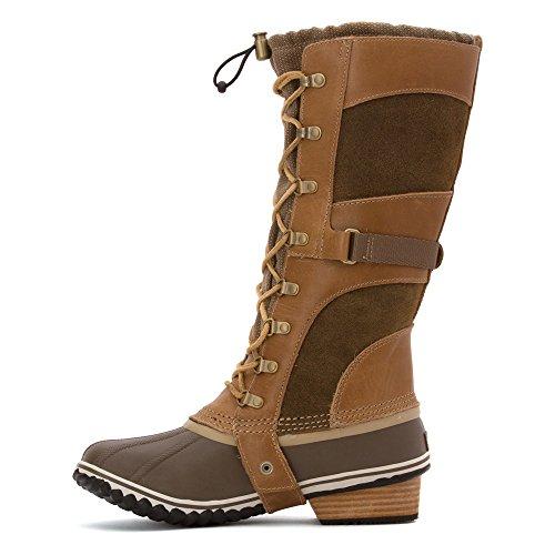 Sorel Womens Conquest Carly Boots British Tan / Flax vKAPuvVSJ