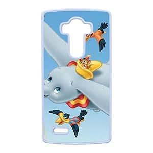 Dumbo For LG G4 Cell Phone Case White XER39150
