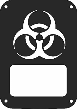 Amazon Jeeptails Biohazard Symbol Jeep Jk Wrangler 2007