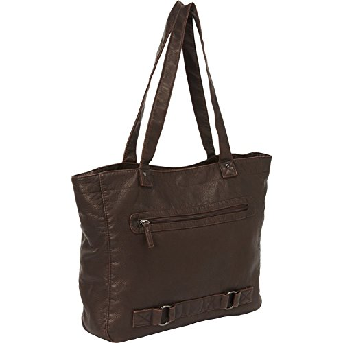 Bellino Mason Travel Totes, Brown, One Size (Bellino Leather Tote)
