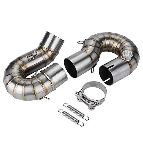 - Cuque Motorcycle Exhaust Middle Link Pipe Modification Exhaust Vent Middle Link Pipe Vent System Connector for Honda CBR1000RR 2008 2009 2010 2011 2012 2013 2014