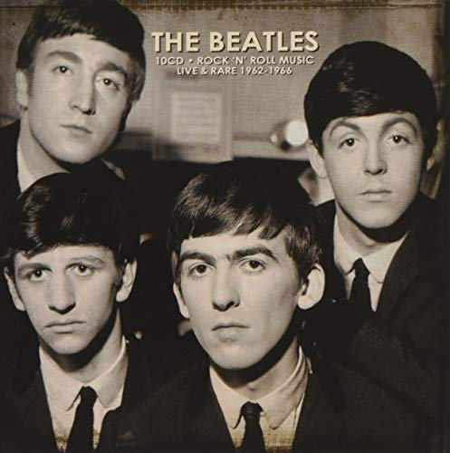 Rock N Roll Music Live and Rare 1962to 1 (Beatles Live At The Hollywood Bowl Cd)