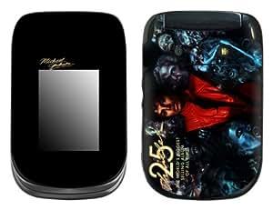 MusicSkins, MS-MJ30246, Michael Jackson - Thriller 25, BlackBerry Style (9670), Skin