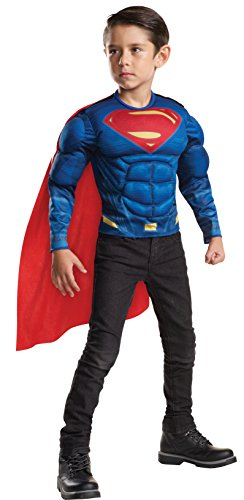 Batman v Superman: Dawn of Justice Superman Muscle Chest Shirt (Superman Costume For Sale)