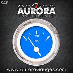 GAR138ZEXKABAD Aurora Instruments Marker Blue Fuel Level Gauge
