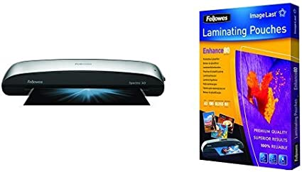 Fellowes - Pack plastificadora de documentos A3 Spectra + 100 ...