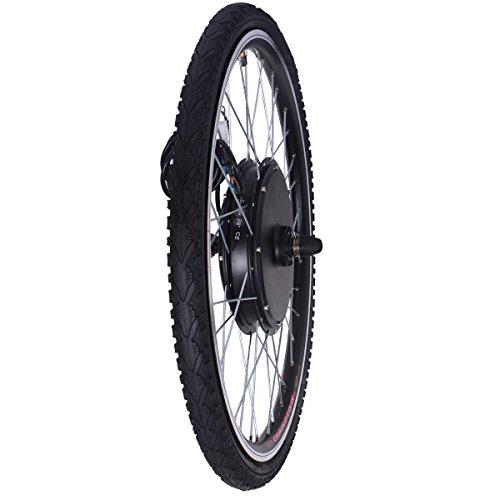 fdb59594562 JAXPETY 48V 1000W Electric Bicycle Cycle E Bike 26″ Front/Rear Wheel Ebike  Hub Motor Conversion Kit Hub Motor Wheel