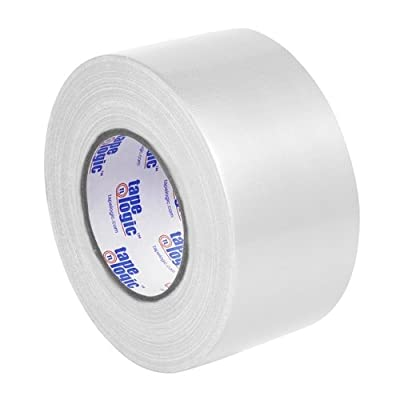 "Tape Logic T988100W3PK, 10.0 Mil Duct Tape, 3"" x 60 yd, White (Pack of 3) from Tape Logic"