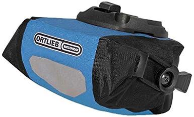 Ortlieb Bolsa para sillín de ciclismo tamaño 0 6 Liter color ozeanblau/negro F9655