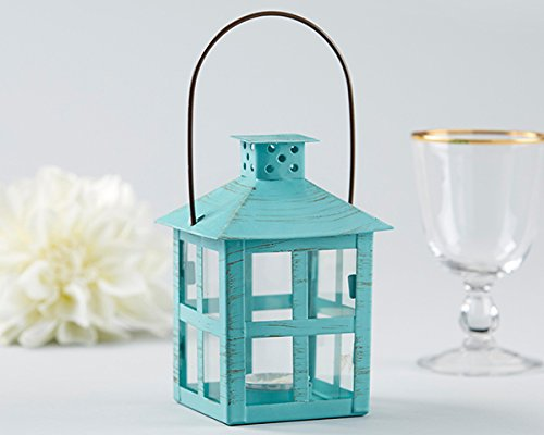 20 Vintage Blue Distressed Lanterns - Medium by Kate Aspen (Image #2)