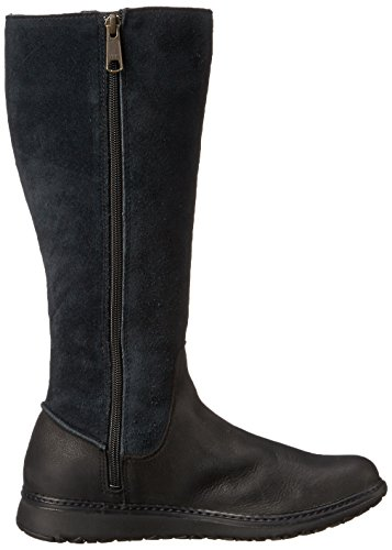 Timberland de las mujeres Ashdale all-fit Tall impermeable para Jet Black Rugged