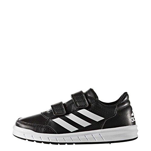 adidas Altasport CF K, Zapatillas de Deporte Unisex Niños Negro (Negbas/Ftwbla/Negbas 000)