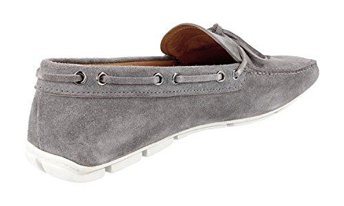Prada Mens 2dd100 103 F073e Läder Loafers