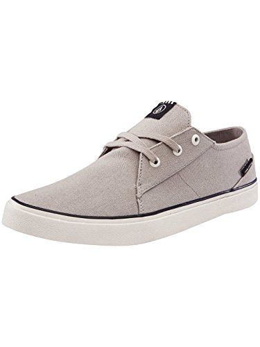 Volcom Recliner Sndl Beige Zehentrenner, Sneakers Basses Homme, Marron (Brown Khaki), 45 EU