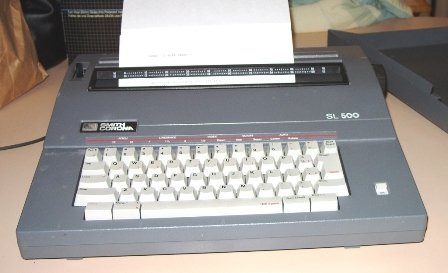 Smith Corona SL500 Electric Typewriter