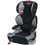 Graco TurboBooster LX High Back Car Seat, Black/Red,...