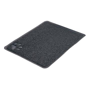 Trixie Tapis pour Bac à Litière Anthracite 37 × 45 cm PVC pour Chat 40381
