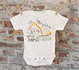 The Caterpillar Is My Spirit Animal Onesie®, Tractor Onesie, Funny Onesie, Cute Onesie, Cute Baby Bodysuit, Boho Baby Onesie