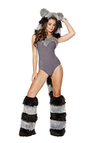 1pc Furry Raccoon