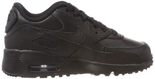 Nike Air Max 90 Ltr (ps) Pojkar Kör-shoes 833.414 Svart / Svart