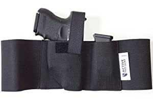Defender Concealment Belly Band Holster (Small 28-32 Inches, Right Hand Draw)