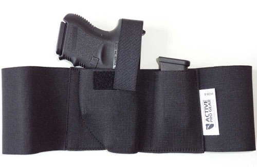 Active Pro Gear Defender Concealment Belly Band Holster (Medium 33-38 Inches, Right Hand Draw)